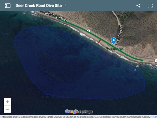Deer Creek Road Dive Site