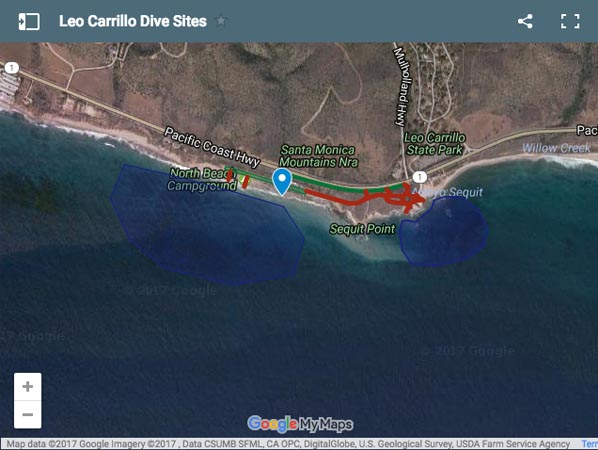 Leo Carrillo Dive Site