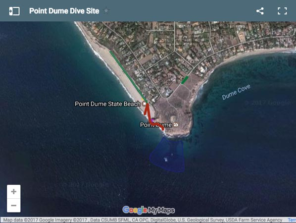 Point Dume Dive Site Malibu