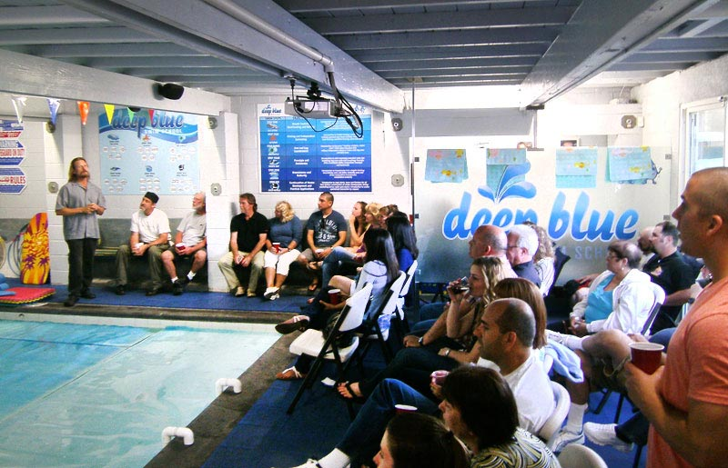 Dive Club Meeting at Deep Blue Scuba & Swim Center in Long Beach