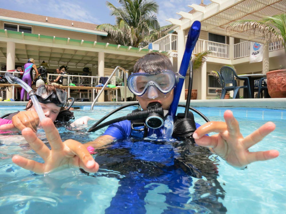 Kids Snorkel, Dive, and Travel with Deep Blue