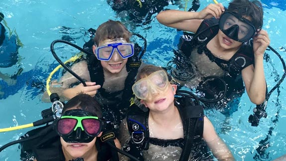 Bubblemaker is the Youth Scuba Diving Program
